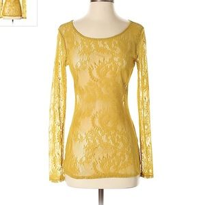 Anthropologie Ella Moss Lace Top